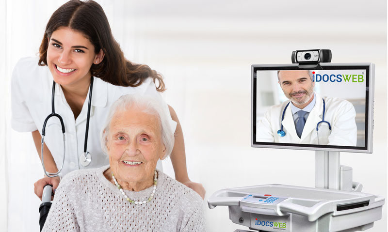 iDocsWeb Telemedicine for Long Term Care