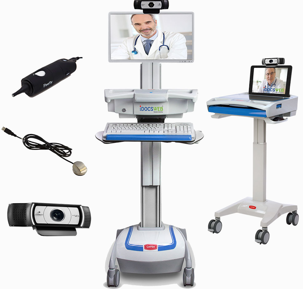 Telemedicine Company offering affordable telemedicine carts and telehealth equipment