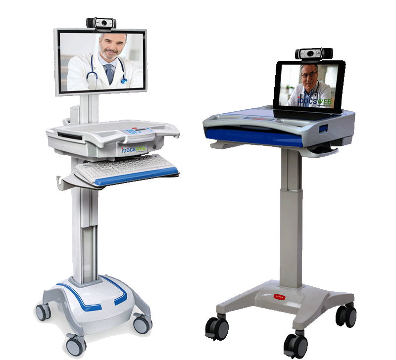 Telemedicine Carts and equipment for LTC
